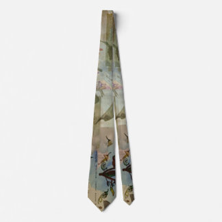 Chinese Lantern Surrounded Tie