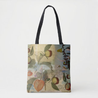 Chinese Lantern Surrounded Tote Bag