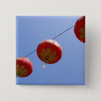 Chinese Lanterns 15 Cm Square Badge