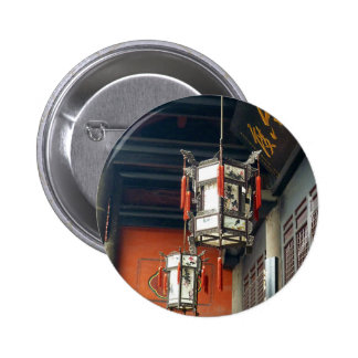 Chinese Lanterns 6 Cm Round Badge