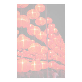 Chinese Lanterns Customised Stationery