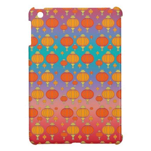 Chinese lanterns iPad mini covers