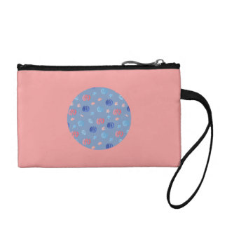 Chinese Lanterns Key Coin Clutch