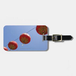 Chinese Lanterns Luggage Tag