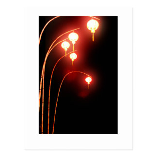 Chinese lanterns post cards