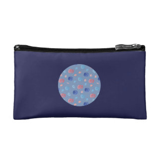 Chinese Lanterns Small Cosmetic Bag