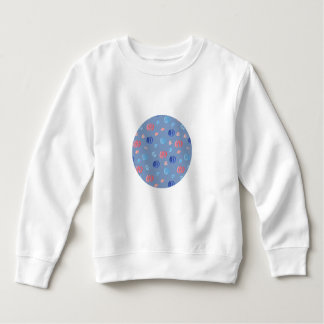 Chinese Lanterns Toddler Sweatshirt
