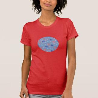 Chinese Lanterns Women's Crew Neck T-Shirt
