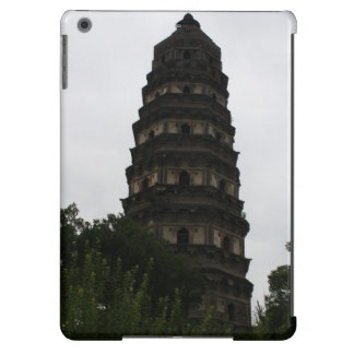 Chinese Leaning Pagoda Buddhist Temple iPad Air Case