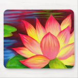 Chinese Lotus Water Lily Flower Art - Multi Mouse Mats