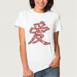 Chinese Love Ai Spring Flowers Kanji Symbol Logo Shirt