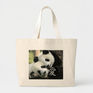 Chinese Loving Little Giant Pandas Bags