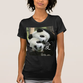 Chinese Loving Little Giant Pandas T-Shirt