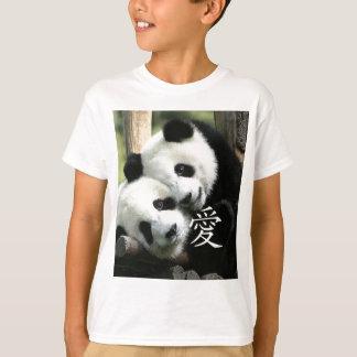 Chinese Loving Little Giant Pandas Tshirts