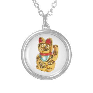 Chinese Lucky Cat Personalized Necklace
