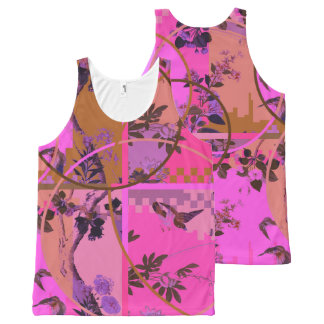 Chinese Mashup II – All-Over Printed Unisex Vest