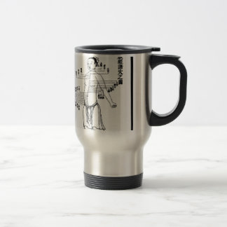 Chinese Medicine chart Coffee Mug