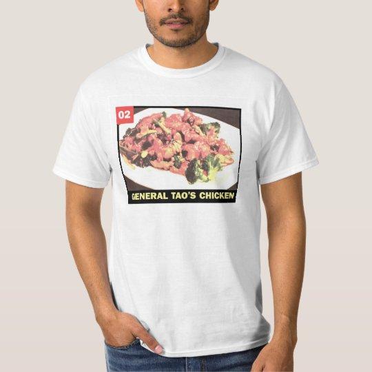 Chinese Menu - 02 General Tao's Chicken T-Shirt
