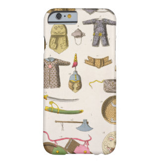 Chinese military arms and apparel, illustration fr barely there iPhone 6 case
