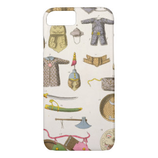 Chinese military arms and apparel, illustration fr iPhone 8/7 case