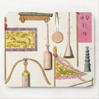 Chinese military equipment, illustration from 'Le Mouse Mat