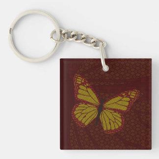 Chinese Monarch Acrylic Keychain