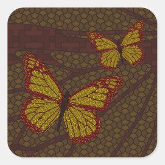 Chinese Monarch Sticker