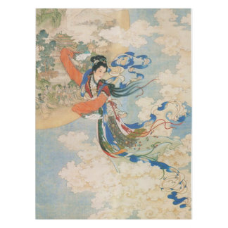 Chinese Moon Goddess table cloth Tablecloth
