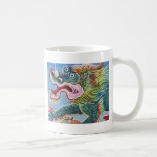 Chinese Mural Basic White Mug
