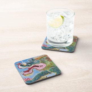 Chinese Mural Beverage Coaster