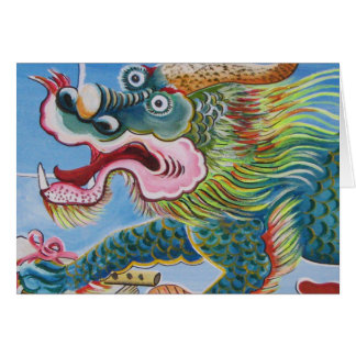 Chinese Mural Greeting Card