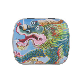 Chinese Mural Jelly Belly Candy Tin