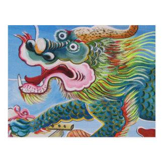 Chinese Mural Postcard