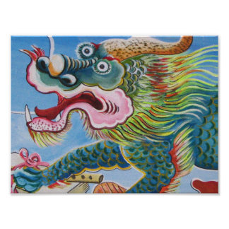 Chinese Mural Poster