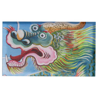 Chinese Mural Table Card Holder