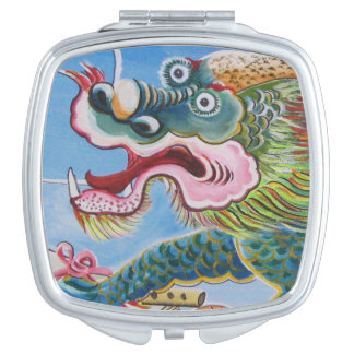 Chinese Mural Vanity Mirror