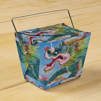Chinese Mural Wedding Favour Box
