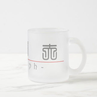 Chinese name for Adolph 20397_0.pdf Frosted Glass Mug