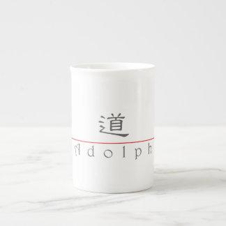Chinese name for Adolph 20397_2 pdf Bone China Mugs