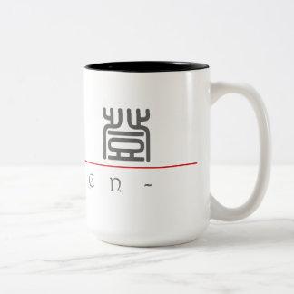 Chinese name for Caden 22135_0.pdf Two-Tone Coffee Mug