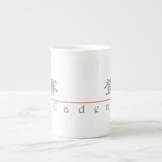 Chinese name for Caden 22135_2 pdf Bone China Mug