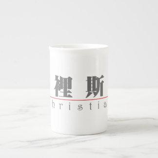 Chinese name for Christian 20512_3.pdf Porcelain Mugs