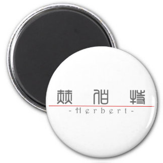 Chinese name for Herbert 20625_0.pdf Fridge Magnet