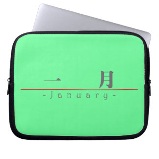 Chinese name for January 60005_3.pdf Laptop Computer Sleeves