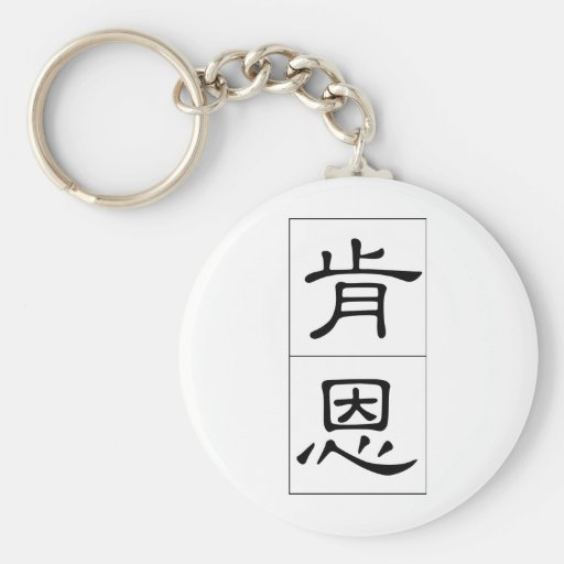 Chinese name for Ken 20672_2.pdf Keychains
