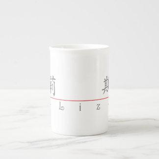 Chinese name for Liz 20212_1.pdf Bone China Mug