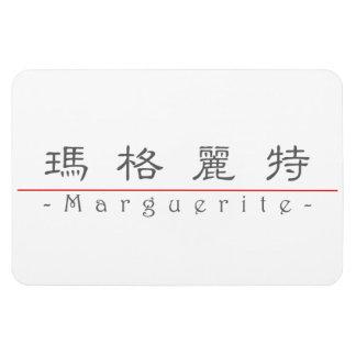 Chinese name for Marguerite 20226_2.pdf Rectangular Photo Magnet