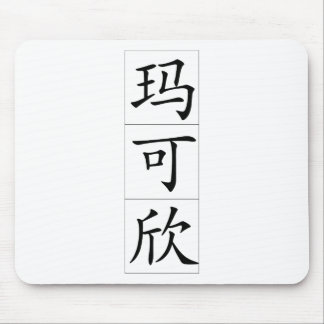 Chinese name for Maxine 20237_1 pdf Mouse Pad