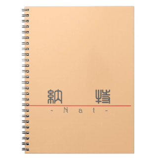 Chinese name for Nat 20741_0.pdf Spiral Notebook