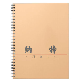 Chinese name for Nat 20741_4 pdf Spiral Notebooks